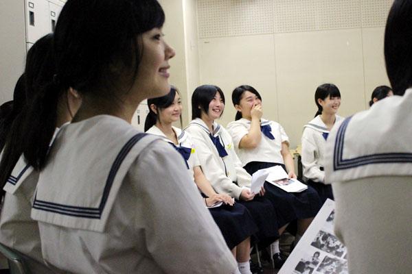 博多女子高校・実践的授業